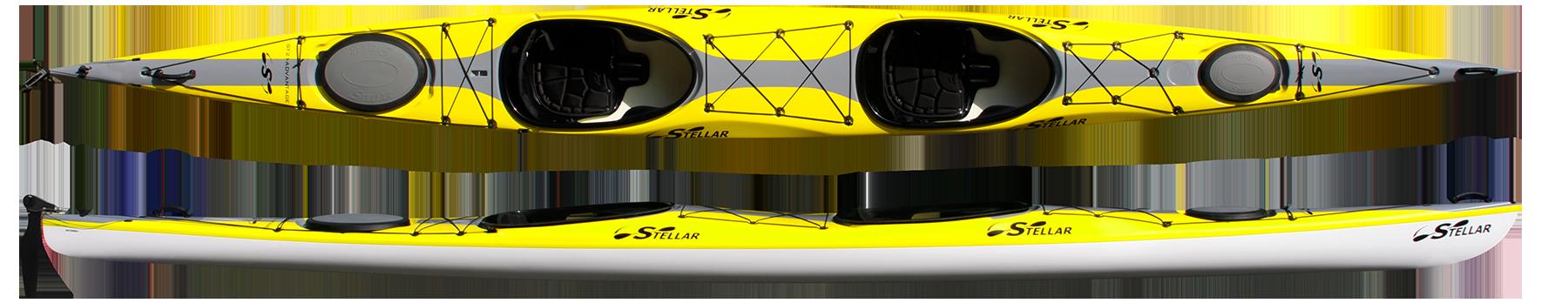 Stellar Tandem 21' Touring Kayak (ST21) - Stellar Kayaks USA